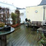 Großzügige Dachterrasse der exklusiven Wohnung über 2 Ebenen in Varel